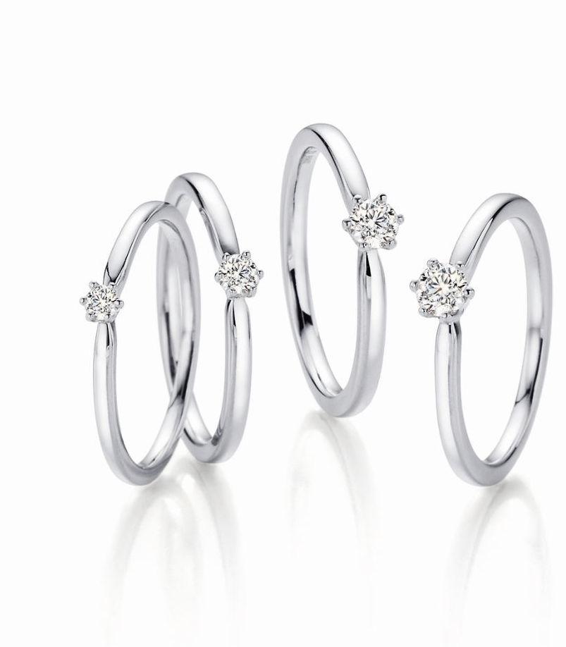 Verlobungs und Antragsringe